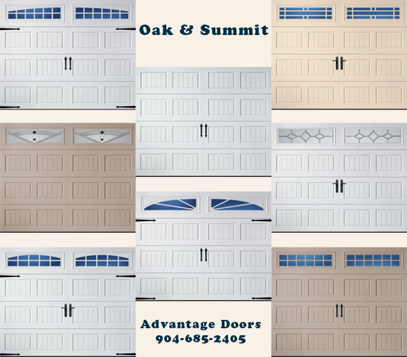 Amarr Garage Doors - Oak & Summit Collection