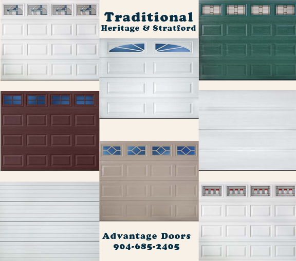 Amarr Garage Doors - Traditional Steel